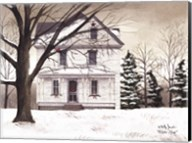 Winter Porch Fine-Art Print