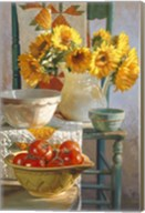 Sunflowers & Tomatoes Fine-Art Print