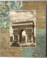 Paris Scrapbook I Fine-Art Print