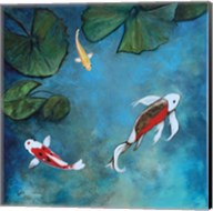 Enchanted Koi Trio Fine-Art Print