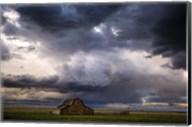 Stormy Barn 04 Fine-Art Print