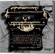 Movie Typewriter 1 Fine-Art Print
