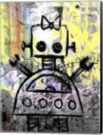 Girl Robot Color Fine-Art Print