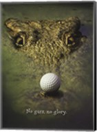 Crocodile Golf Fine-Art Print