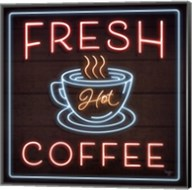 Neon Fresh Coffee Fine-Art Print