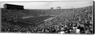 Football stadium full of spectators, Notre Dame Stadium, South Bend, Indiana Fine-Art Print