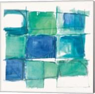 131 West 3rd Street Square II on White Fine-Art Print