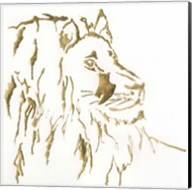 Gilded Lion Fine-Art Print