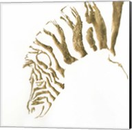 Gilded Zebra Fine-Art Print