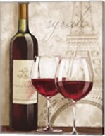 Wine in Paris IV Fine-Art Print