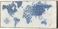 Indigo Gild Map Maki Fine-Art Print