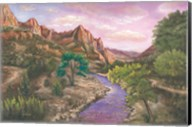 Zion at Sunset Fine-Art Print