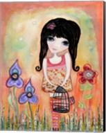 Big Eyed Girl Just Believe Fine-Art Print