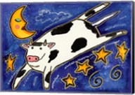 The Cow That Jumped Over The Moon Fine-Art Print