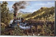 Smoke Steam & Timber Fine-Art Print