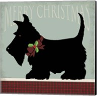 Scottie Merry Christmas Fine-Art Print