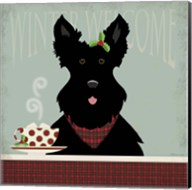 Scottie Winter Welcome Fine-Art Print