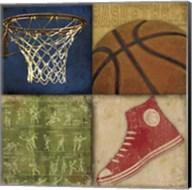 Basketball 4 Patch Fine-Art Print