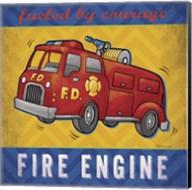 Fire Engine Fine-Art Print