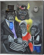 Monkey Portrait Fine-Art Print