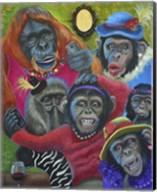 Monkey Selfies Fine-Art Print
