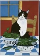 Sweet Peas And Garden Peas Fine-Art Print