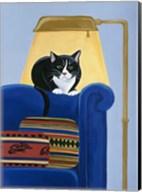 Catmandu Keeping Warm Fine-Art Print