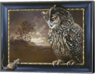 Eagle Owl And Mouse Fine-Art Print