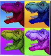Pop Art Dinosaurs 1 Fine-Art Print