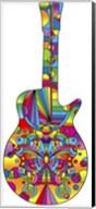 Pop Art Guitar Butterfly Fine-Art Print