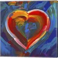 Pop Art Heart Icon Fine-Art Print