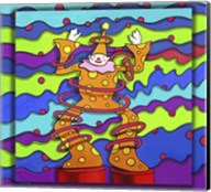 Pop Art Clown Fine-Art Print