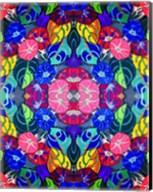 Pop Art Flowers Kalidescope Fine-Art Print