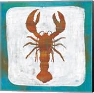 Ahoy II Red Blue Fine-Art Print