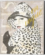 Fashion Week Paris Halftone II Fine-Art Print