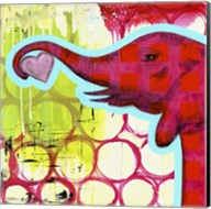 Hot Pink Elephant Fine-Art Print