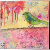 Sunshine Bird Fine-Art Print