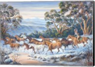 The Man From Snowy River Fine-Art Print