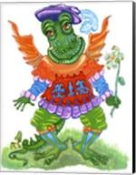 Friendly Dragon Fine-Art Print