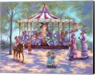 Red Carousel Fine-Art Print