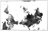 Upside Down Map Of The World BG 1 Fine-Art Print