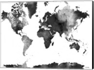 World Map BG 1 Fine-Art Print
