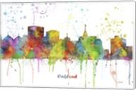Oakland California Skyline Multi Colored 1 Fine-Art Print