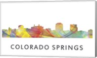 Colorado Springs Colorado Skyline Fine-Art Print