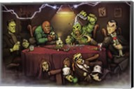 Monsters Playing Poker Fine-Art Print