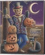 Apple Scarecrow Fine-Art Print