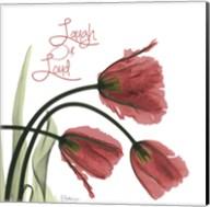 Laugh Out Loud Tulips L83 Fine-Art Print