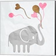 Elephant Balloon Fine-Art Print