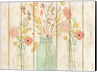 Summer Bloom Jars Fine-Art Print