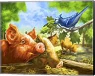 Hog Heaven Fine-Art Print